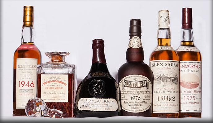 Виски. Все винтажи, начиная от 1937 года