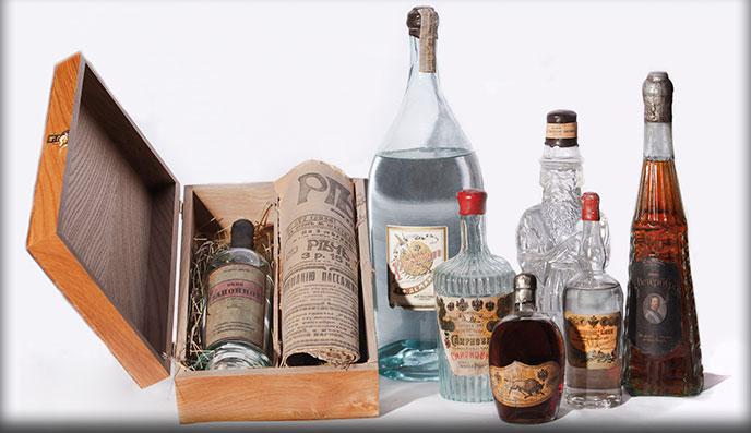 Хлебное вино и коньяки до 1917 года
